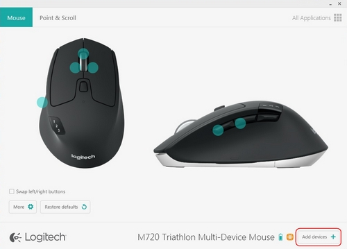 how to connect another device to logitech unifying receiver