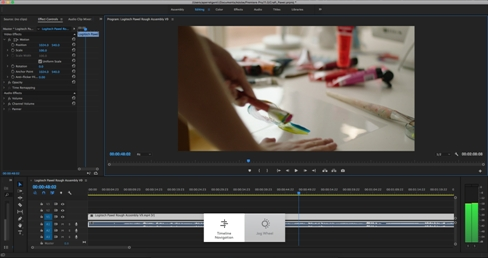 Craft keyboard Crown features for Adobe Premiere Pro – Logitech