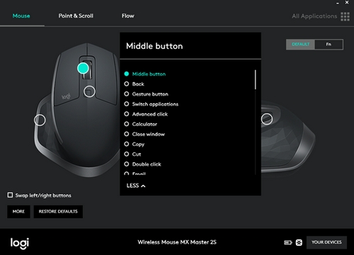 FAQ - MX Master 2S Wireless Mouse – Logitech Support + Download
