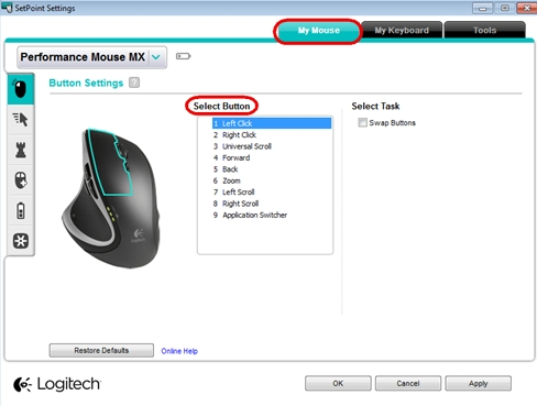 179a3c0b890 Customize the Performance Mouse MX with SetPoint software – Logitech ...
